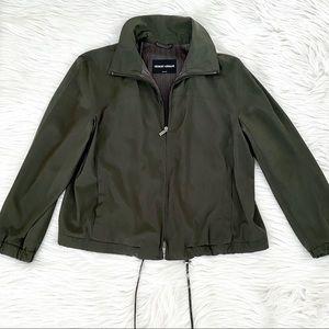 Giorgio Armani Green Jacket